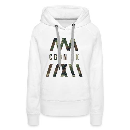 COON FX-ARMY STYLE - Frauen Premium Hoodie