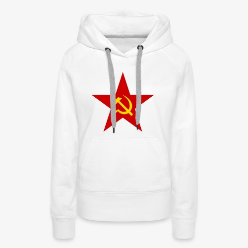 Communism Logo - Women's Premium Hoodie