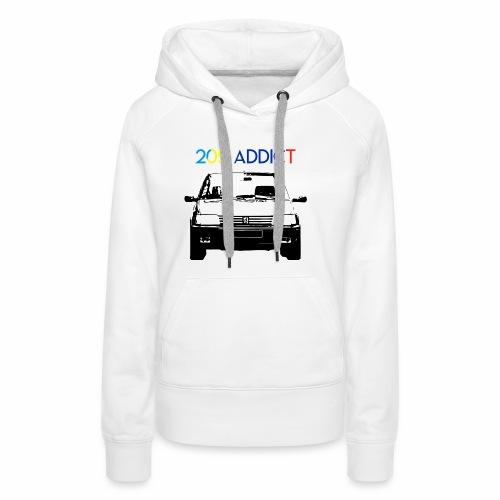 205 ADDICT - Sweat-shirt à capuche Premium pour femmes