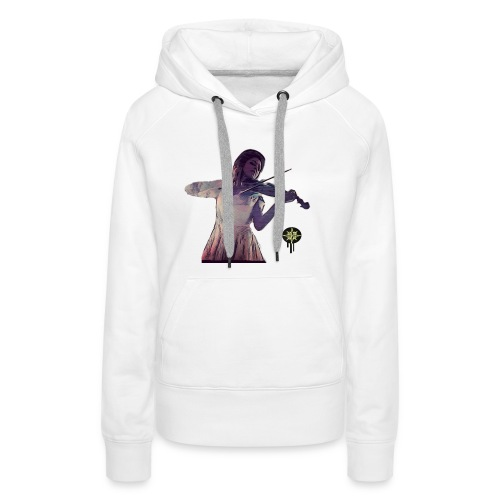 Power of Violine - Frauen Premium Hoodie