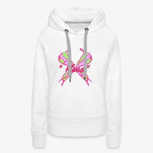 musa - Sweat-shirt à capuche Premium pour femmes