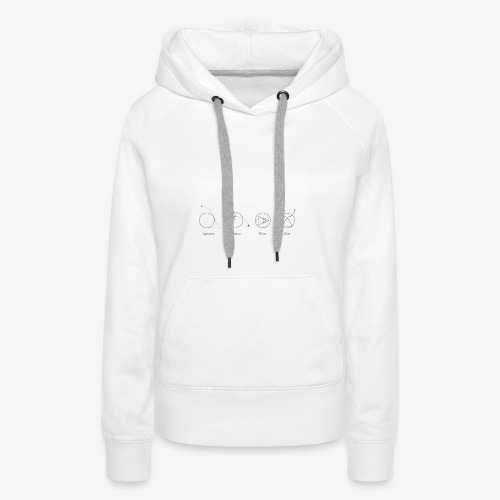 Astrologiques - Sweat-shirt à capuche Premium pour femmes