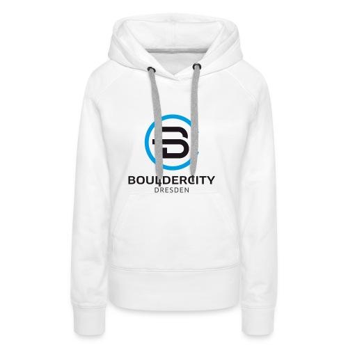 Bouldercity Dresden Blau Schwarz - Frauen Premium Hoodie
