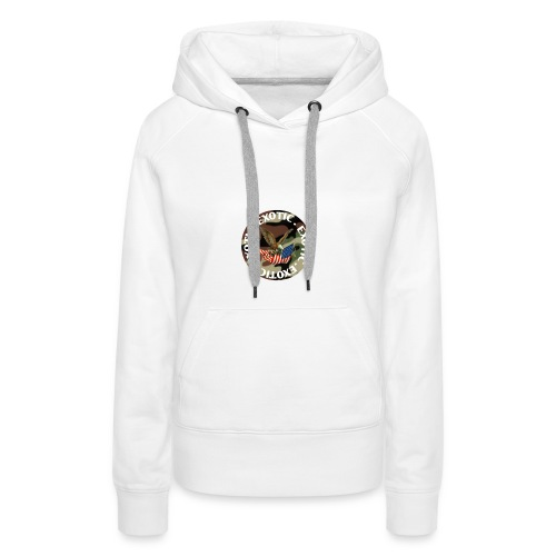 EXOTIC logo and circle - Women's Premium Hoodie
