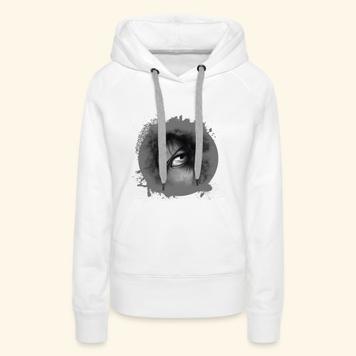 Regard sur le monde - Sweat-shirt à capuche Premium pour femmes