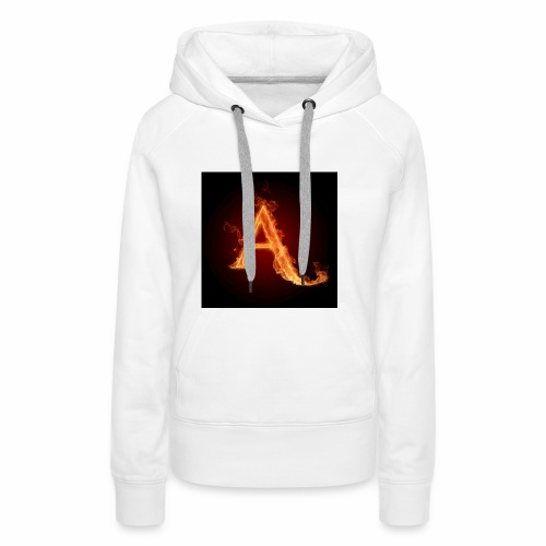 The letter A the letter a 22186960 2560 2560 - Women's Premium Hoodie