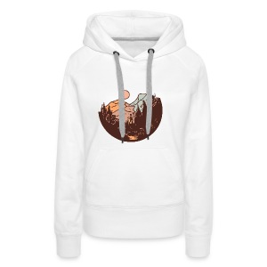 Sunset Mountain - Women's Premium Hoodie