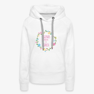 Legends are born in March - Women's Premium Hoodie