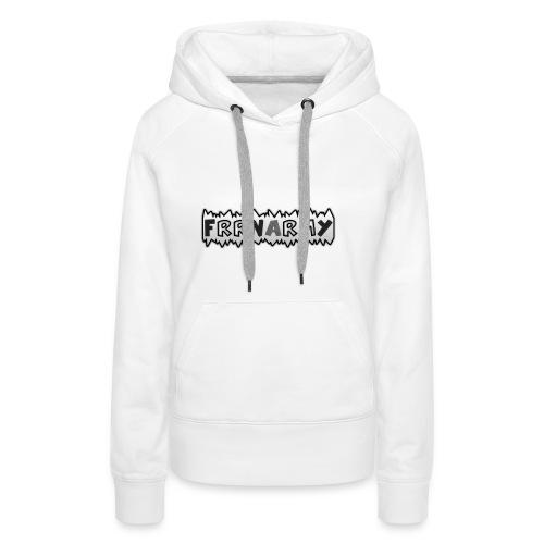 FRRN white Hoodie - Frauen Premium Hoodie