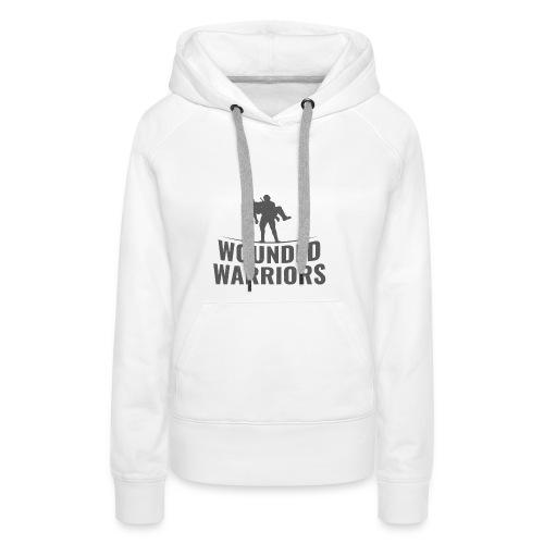 Wounded Warrior Design - Frauen Premium Hoodie