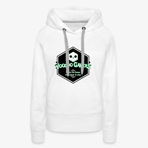 Show your Voodoo Gaming Retro Love! - Women's Premium Hoodie