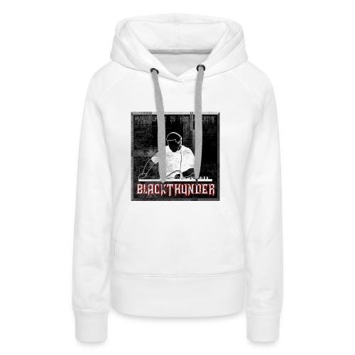 BlackThunder (Hardtechno) Logo - Frauen Premium Hoodie