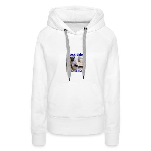 relax - Vrouwen Premium hoodie