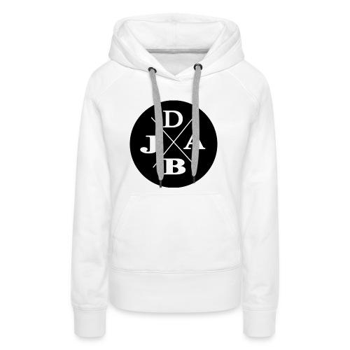 DJAB schwarz & weiß - Frauen Premium Hoodie