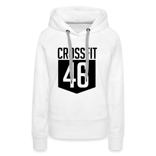 CROSSFIT46 big logo - Premium hettegenser for kvinner