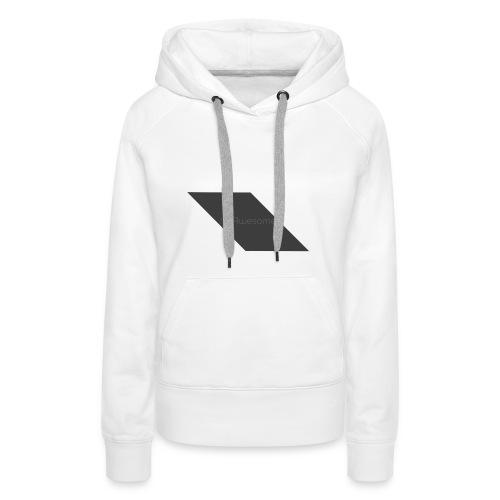 Snapback ItsAwesome - Vrouwen Premium hoodie
