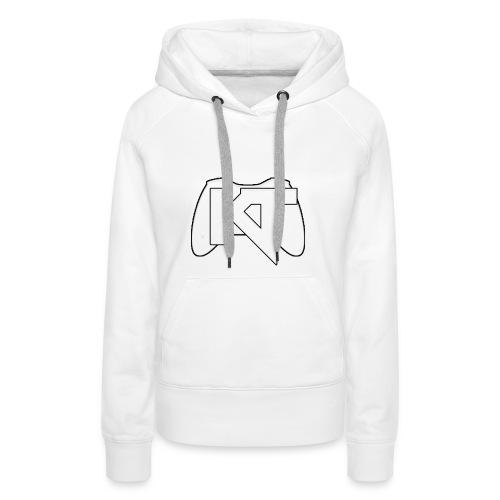 Kwalitijd iphone4/4s Hoesje - Vrouwen Premium hoodie