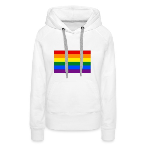 LGBT Pride Flag - Women's Premium Hoodie