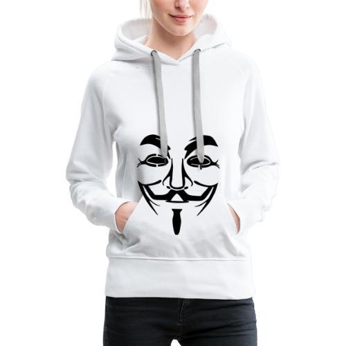 anonym vendetta - Frauen Premium Hoodie
