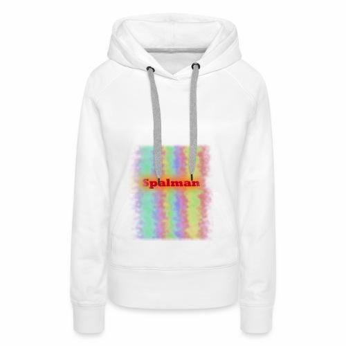 Rainbow Wave - Frauen Premium Hoodie