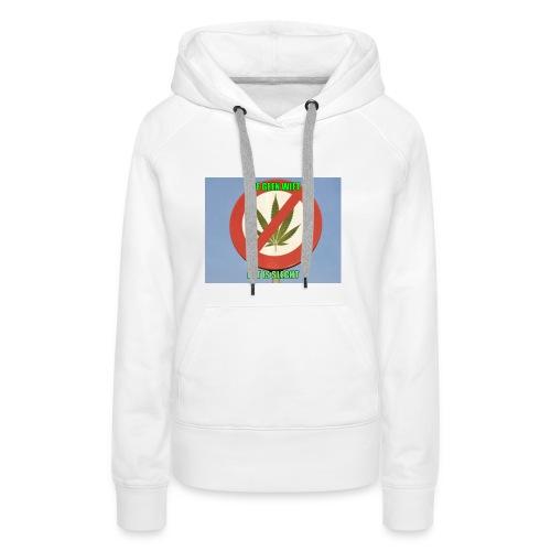 s3 stop wiet case - Vrouwen Premium hoodie