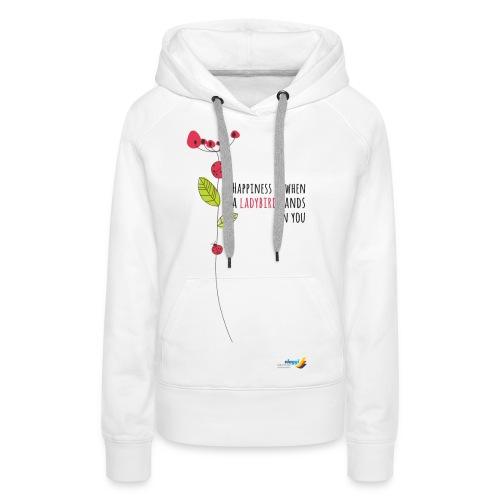 Ladybird Women's T-Shirt - white and ecru - Women's Premium Hoodie