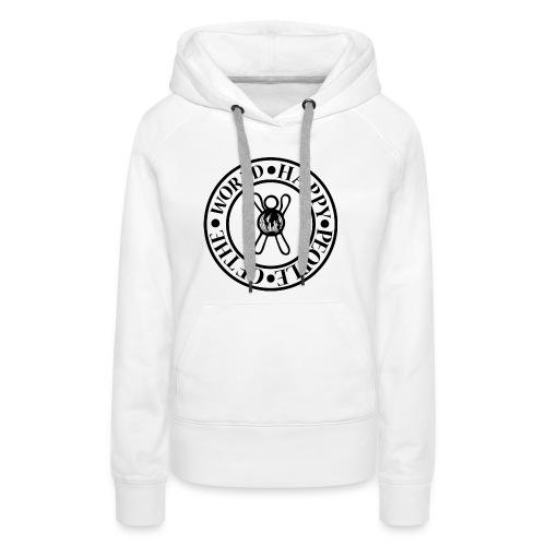 Happy People Circle - Vrouwen Premium hoodie