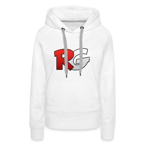 retro gang cap - Vrouwen Premium hoodie