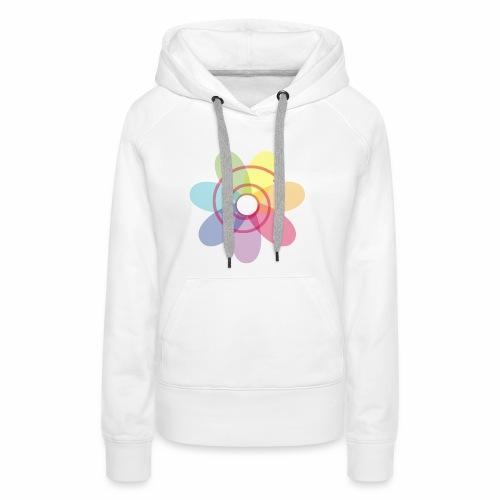 permaculture flower - Sweat-shirt à capuche Premium pour femmes