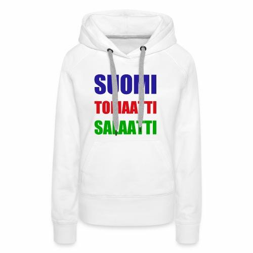 SUOMI SALAATTI tomater - Premium hettegenser for kvinner