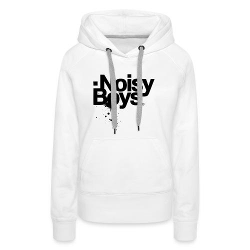 Noisy Boys Splash Classic - Sweat-shirt à capuche Premium pour femmes