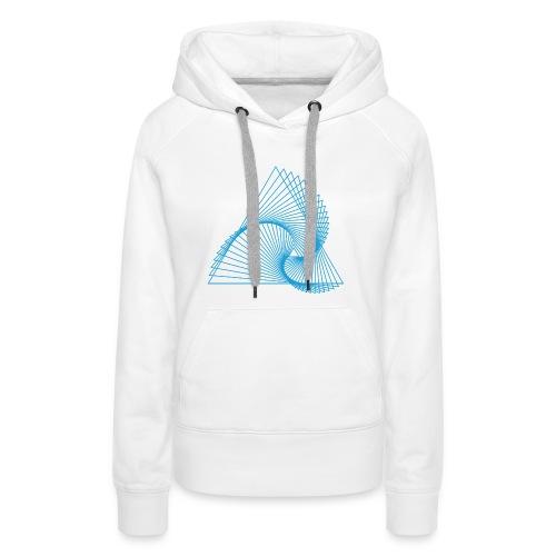 Spirangle - Sweat-shirt à capuche Premium pour femmes