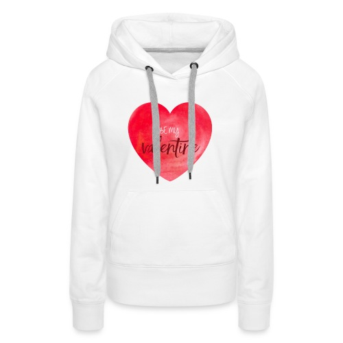 Cœur st.valentin - Sweat-shirt à capuche Premium pour femmes