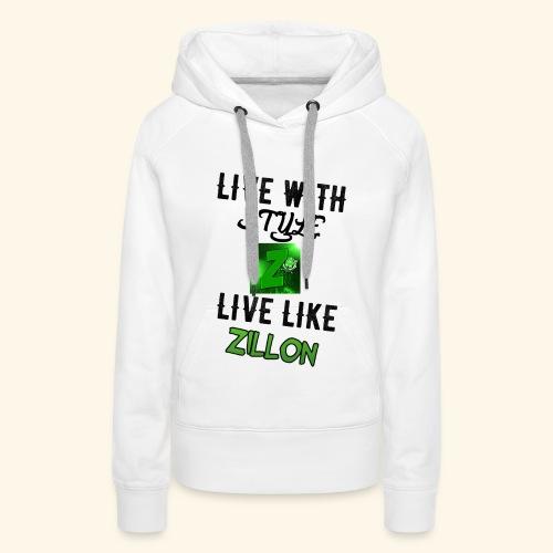 LWS LlZ - Sudadera con capucha premium para mujer