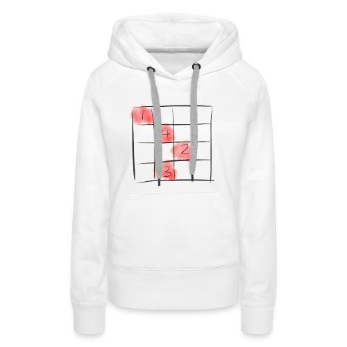 Sudoku puzzle game - Frauen Premium Hoodie