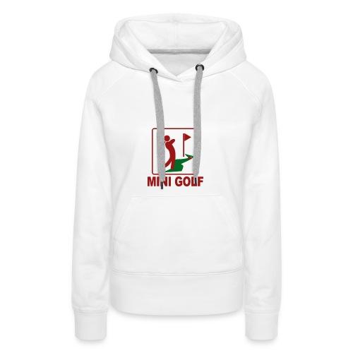 Minigolf - Frauen Premium Hoodie