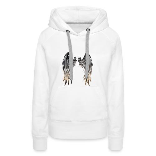 Angelwings - Sweat-shirt à capuche Premium pour femmes