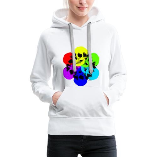 Skull Spectrum - Women's Premium Hoodie