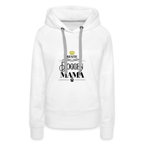 Beste Doggen Mama Geschenk Geburtstag Hundemama - Frauen Premium Hoodie