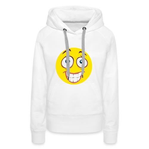 Gekke Smiley - Vrouwen - Vrouwen Premium hoodie