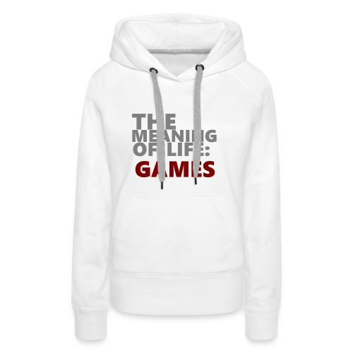 T-Shirt The Meaning of Life - Vrouwen Premium hoodie