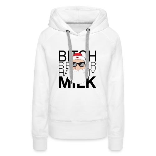BBHMM X-Mas Edition - Felpa con cappuccio premium da donna