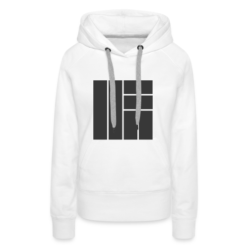 NÖRCup Black Iconic Edition - Women's Premium Hoodie