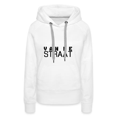 Van De Straat - Wit - Vrouwen Premium hoodie