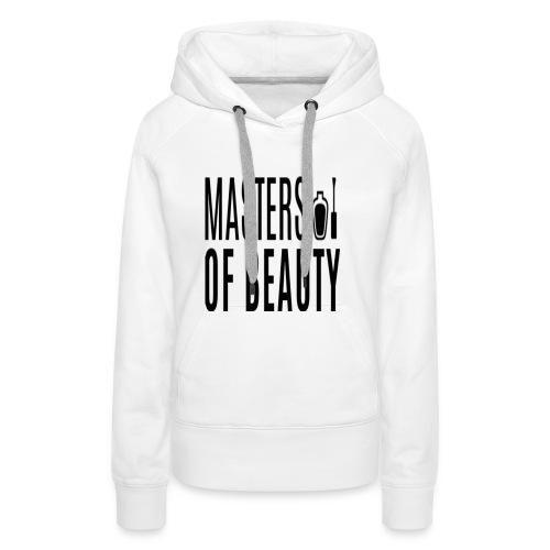 master of beauty string - Vrouwen Premium hoodie