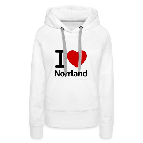 Jag Älskar Norrland (I Love Norrland) - Premiumluvtröja dam