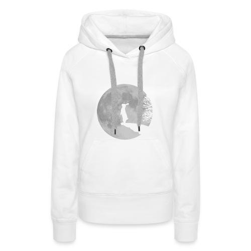 rabbit_wolf-png - Women's Premium Hoodie