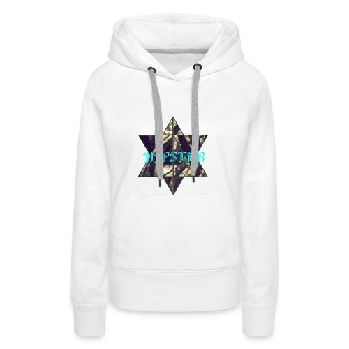 hipster - Vrouwen Premium hoodie