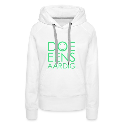Smile i phone case - Vrouwen Premium hoodie