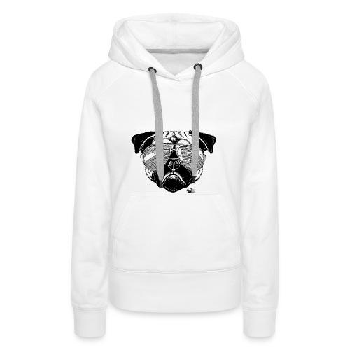 Lex à Lunettes - Sweat-shirt à capuche Premium pour femmes